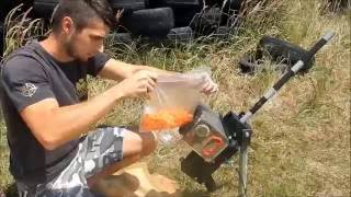Heavy Paintball Machinegun