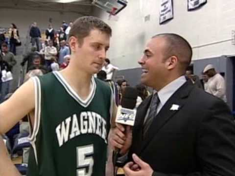 Wagner's Joey Mundweiler Breaks NEC Single-Game Record With 11 Three-Pointers (2/28/09)