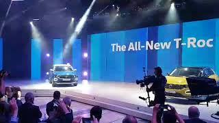 auto klub novi vw t roc premijera u comu