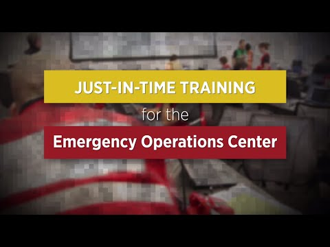 Just In Time EOC Training - Introduction