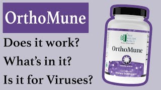 Orthomune Dietary Supplement