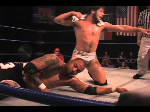 CWF Mid-Atlantic Wrestling: Trevor Lee vs. Roy Wilkins in a Weaver Cup match (7/20/13)