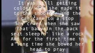 Carrie Underwood Jesus, Take The Wheel Lyrics