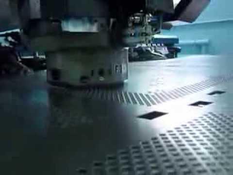Перфорация металлических изделий