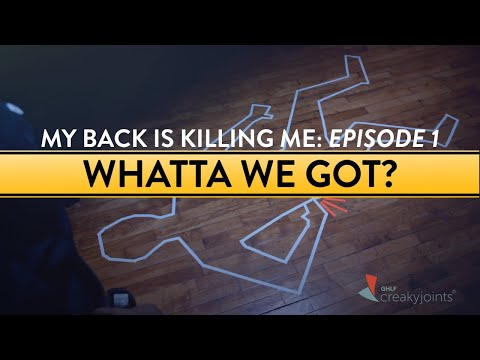 episode-1:-a-mysterious-back-pain-attack- -my-back-is-killing-me
