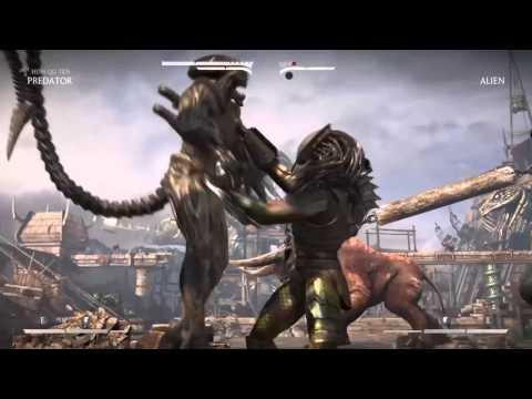 Mortal kombat X: Predator vs Alien