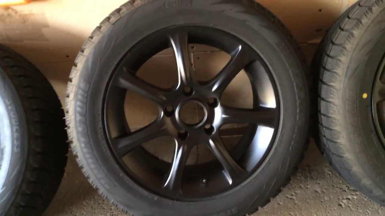 BMW F Winter Tire Swap Bridgestone Blizzak I XDrive - Bmw 328i run flat tires