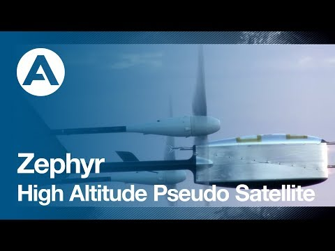 Zephyr - High Altitude Pseudo Satellite (HAPS)