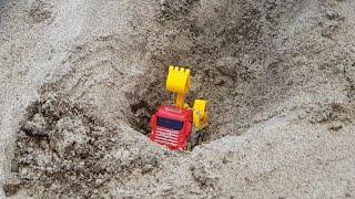 Buğra Kamyonlu Kepçeyi Kuma Gömdü Berat Kamyona Ayran Döktü