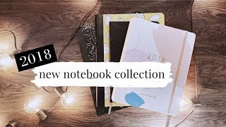 My New 2018 Notebook Collection | Planner, Journal and 2017 Flip Through