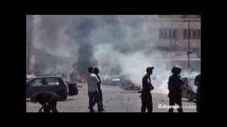 Violent clashes as unrest spreads across Egypt