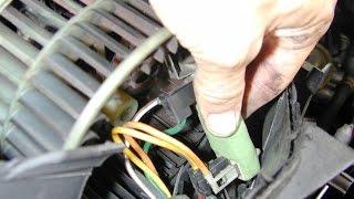 mecanique moktar ventilateur de chauffage mégane