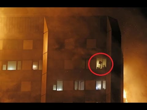 Grenfell Tower: Massive Building Fire In London! - (Compilation)