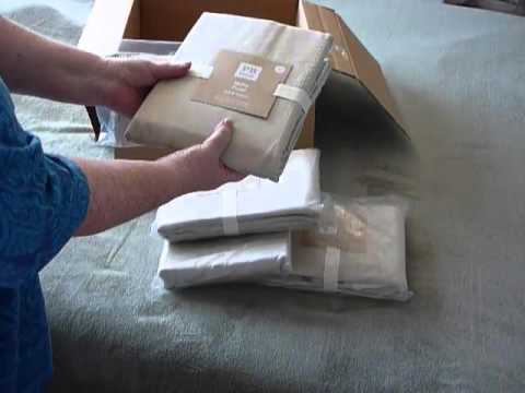 Pottery Barn Teen Metro Drapes Unboxing