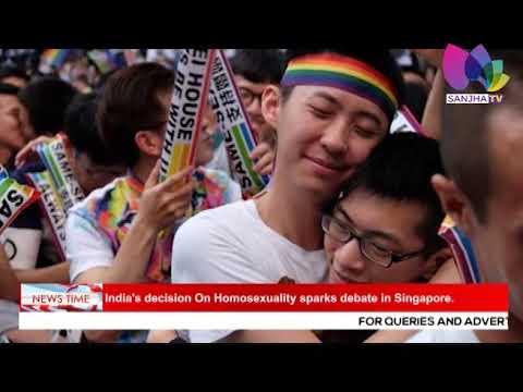 Homosexuality debate in india