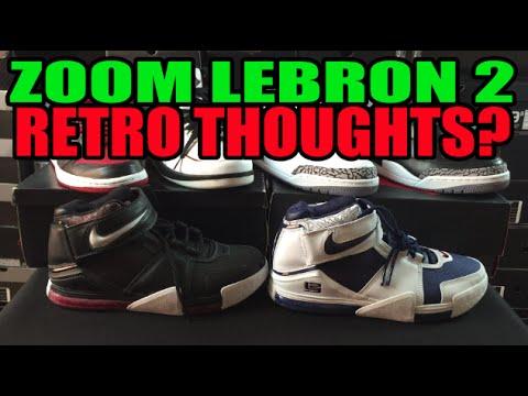 Rumored Nike Zoom Lebron 2 Retro