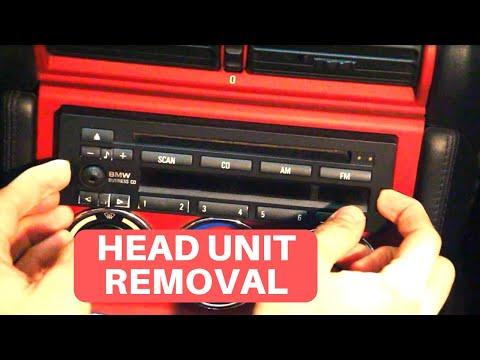 BMW Z3 M Roadster Interior - Head Unit Removal Procedure