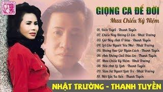 Mưa Chiều Kỷ Niệm - Nhật Trường, Thanh Tuyền | Nhạc Vàng Hải Ngoại 1000 Nguời Nghe 999 Người Nghiện