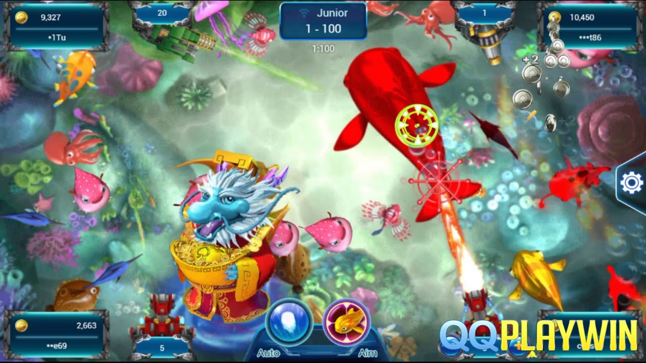 Games Tembak Ikan Uang Asli Sg Fishing God Spadegaming By Qqplaywin Slot