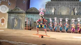 Karagam folk dance of Tamilnadu... Skill in Shilpgram Utsav, Udaipur