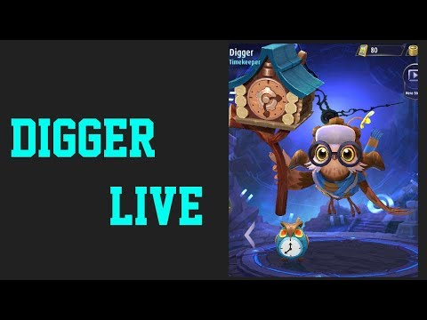 DIGGER THE NEW HERO MOBILE LEGENDS