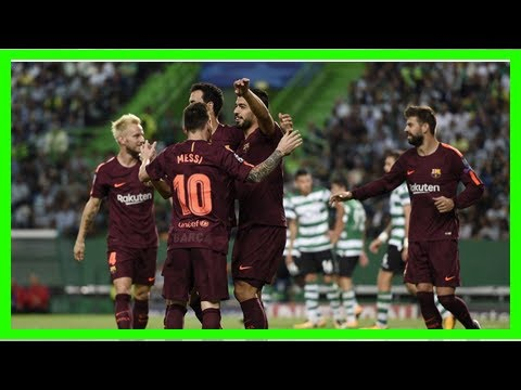 Barcelona 2-0 sporting lisbon