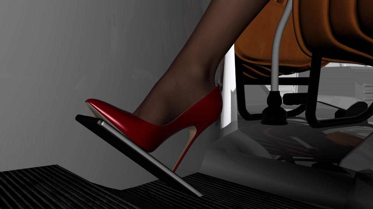 Madame Medusa High Heels Pedal Pumping Remake Youtube