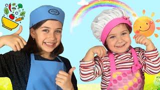 ემილია და დანიელა რას ამზადებენ სამზარეულოში?