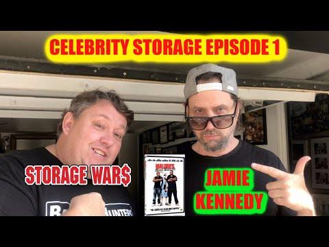 Buying Stuff from Jamie Kennedy Celebrity Storage Episode 1 Auction Storage Wars