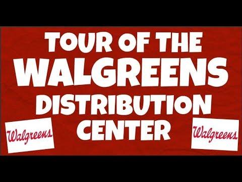 Tour Of Walgreens Distribution Center