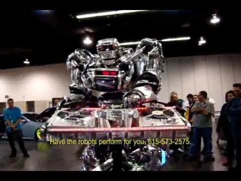 how to build a real steel robot