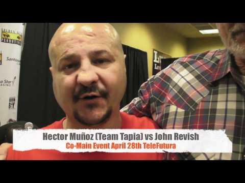 Johnny Tapia Defends Albuquerque And Hector Muñoz