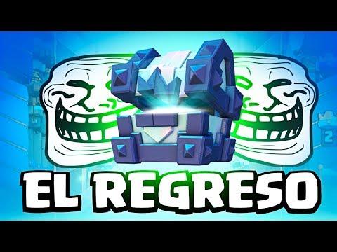 TODO SALDRÁ BIEN ¡¡EL COFRE TROLL REGRESA!! | Clash Royale