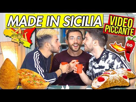 MADE IN SICILIA CHALLENGE 🍋 (PICCANTE) 🌶 | Matt & Bise ft. xMurry