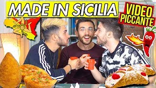 MADE IN SICILIA CHALLENGE 🍋 (PICCANTE) 🌶   Matt & Bise ft. xMurry thumbnail