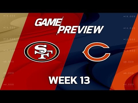 San Francisco 49ers vs. Chicago Bears | NFL Week 13 Game Preview | NFL Playbook