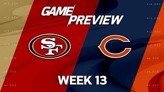 San Francisco 49ers vs. Chicago Bears   NFL Week 13 Game Preview   NFL Playbook