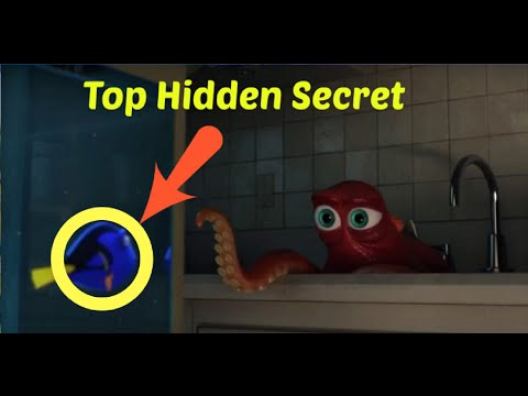 Finding Dory Top 10 Movie Mistakes & Hidden Secrets