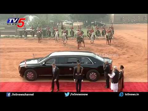Donald Trump LIVE   Trump India Visit Day - 2   PM Modi   TV5 News