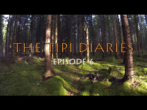 The Tipi Diaries Ep06 - Winter Hot Tent Camping & Bushcraft in Sweden - Tentipi Safir 7