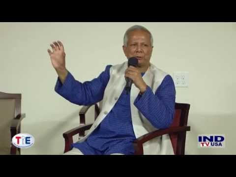 Social Innovation and Business Design - A Talk by Prof. Yunus