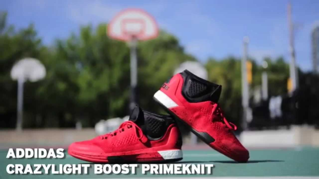 1b3e6b64b9a7a0 adidas 2015 Crazylight Boost Primeknit - Performance Review - YouTube