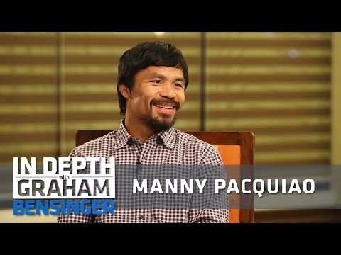 Manny Pacquiao on childhood without shoes, home, dad