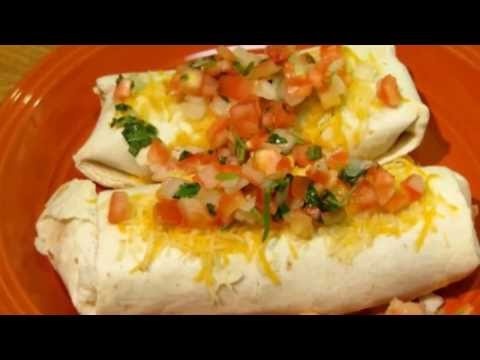 How to make Chicken Burritos Recipe