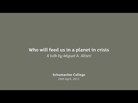 Earth Talk: Agroecology: Who will feed us in a planet in crisis with Miguel A. Altieri