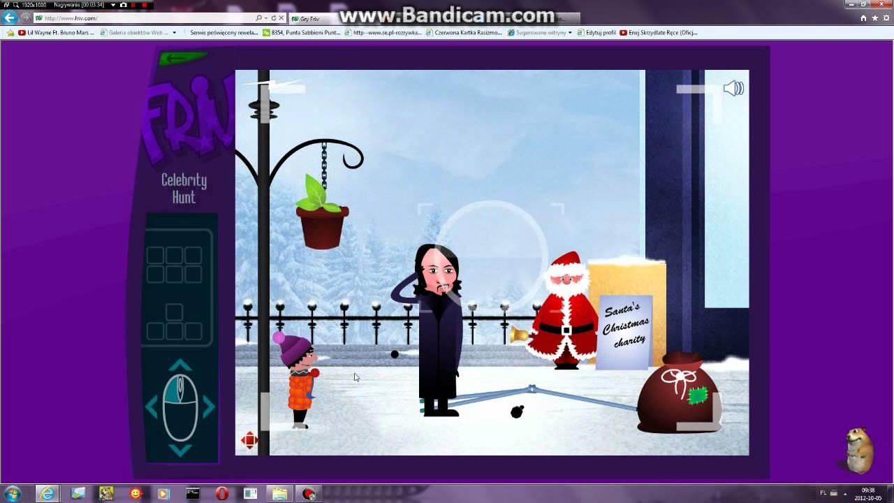 Friv.com Weird celebrity hunt game - YouTube