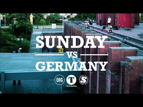SUNDAY VS GERMANY - DIG BMX TERRITORIES #3
