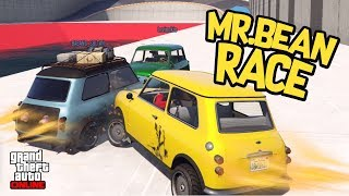 Balapan Mobil Mr.Bean - GTA 5 Indonesia Funny Moments