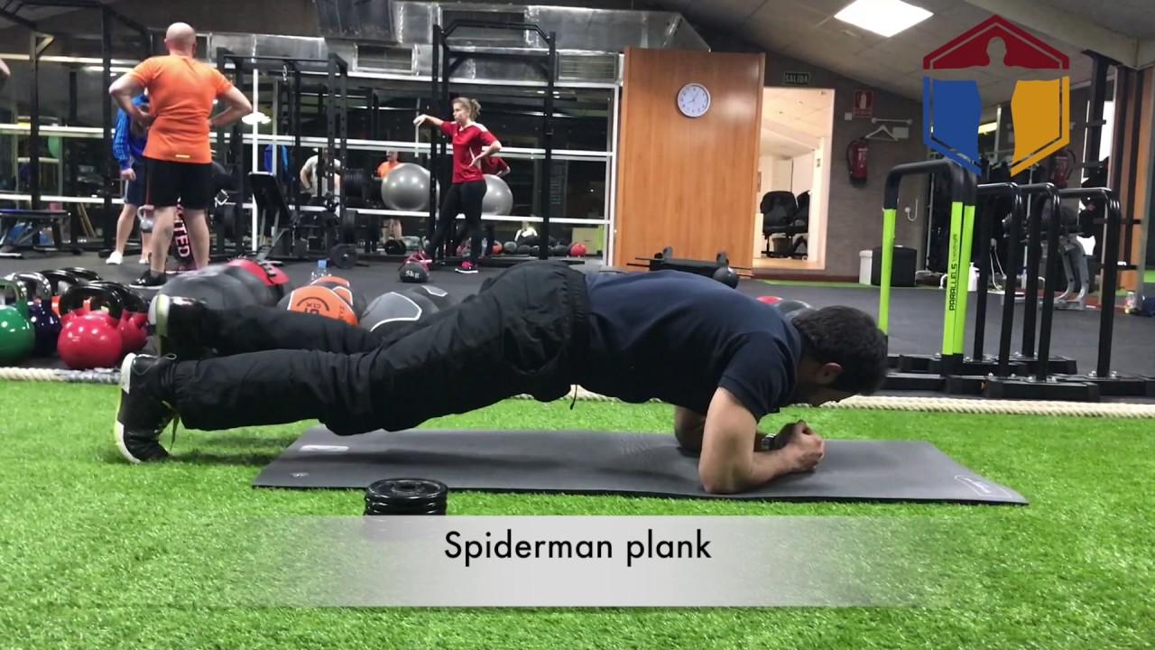 trabajo de core gym