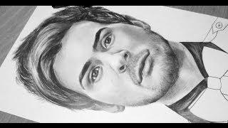 Drawing Anthony Padilla (Smosh)